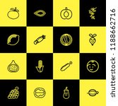 set of 16 editable cooking... | Shutterstock .eps vector #1188662716