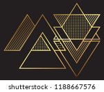 abstract geometric background... | Shutterstock .eps vector #1188667576