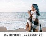 beautiful young woman relaxing... | Shutterstock . vector #1188668419
