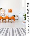vertical view of living room...   Shutterstock . vector #1188681859