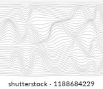 warped black lines.black warped ... | Shutterstock . vector #1188684229