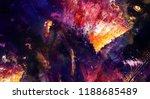 modern art. colorful... | Shutterstock . vector #1188685489