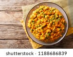 kenyan vegetarian meal irio... | Shutterstock . vector #1188686839