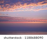 the sky and the sea before... | Shutterstock . vector #1188688090