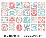 set of original monochrome... | Shutterstock .eps vector #1188690769