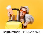 close up tourist woman in... | Shutterstock . vector #1188696760