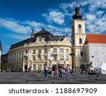 sibiu  romania   august 16 ...   Shutterstock . vector #1188697909