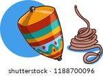 turkish traditional handmade... | Shutterstock .eps vector #1188700096