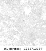map of hyderabad  telangana ... | Shutterstock .eps vector #1188713389