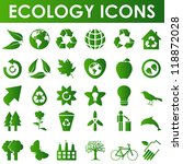 ecology icons | Shutterstock .eps vector #118872028