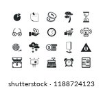 business vector icon set.... | Shutterstock .eps vector #1188724123