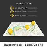 location icon map. road... | Shutterstock .eps vector #1188726673