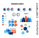 business data visualisation... | Shutterstock .eps vector #1188738919