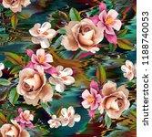 flowers are full of romance the ... | Shutterstock . vector #1188740053