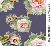 watercolor seamless pattern... | Shutterstock . vector #1188741283