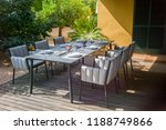dining table with chairs and... | Shutterstock . vector #1188749866