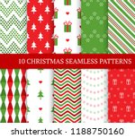 ten christmas different...   Shutterstock .eps vector #1188750160