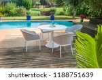 dining table with chairs and... | Shutterstock . vector #1188751639