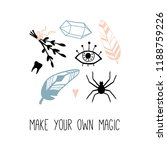 make your own magic.... | Shutterstock .eps vector #1188759226