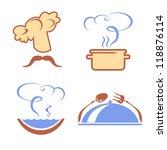 vector set of signs and symbols ... | Shutterstock .eps vector #118876114