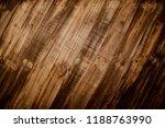 old wood reclaimed plank... | Shutterstock . vector #1188763990