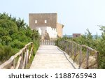 entrance path to the preserved...   Shutterstock . vector #1188765943