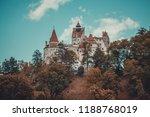 bran  transylvania region ... | Shutterstock . vector #1188768019