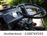 dashboard of an old tractor for ... | Shutterstock . vector #1188769243