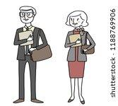 set of business peoples.... | Shutterstock .eps vector #1188769906