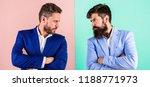 business partners competitors... | Shutterstock . vector #1188771973
