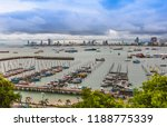 viewpoint of pattaya located in ... | Shutterstock . vector #1188775339