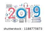 study education 2019 word... | Shutterstock .eps vector #1188775873