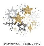elegant merry christmas... | Shutterstock .eps vector #1188794449
