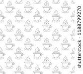 hot tea seamless pattern.... | Shutterstock .eps vector #1188799270