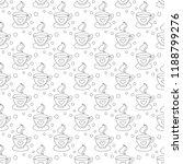 hot coffee seamless pattern... | Shutterstock .eps vector #1188799276