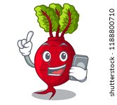 with phone cartoon fresh... | Shutterstock .eps vector #1188800710