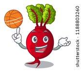 with basketball cartoon fresh... | Shutterstock .eps vector #1188803260
