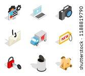 online society icons set....