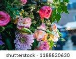 autdoor autumn floral decoration | Shutterstock . vector #1188820630