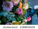 autdoor autumn floral decoration | Shutterstock . vector #1188820636