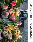 autdoor autumn floral decoration | Shutterstock . vector #1188820639