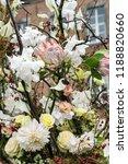 autdoor autumn floral decoration | Shutterstock . vector #1188820660