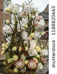 autdoor autumn floral decoration | Shutterstock . vector #1188820663