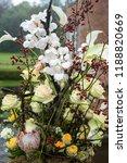 autdoor autumn floral decoration | Shutterstock . vector #1188820669