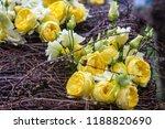 autdoor autumn floral decoration | Shutterstock . vector #1188820690