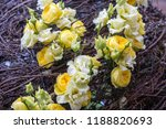 autdoor autumn floral decoration | Shutterstock . vector #1188820693