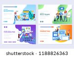 templates design for online... | Shutterstock .eps vector #1188826363
