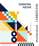 abstract geometric shape layout ...   Shutterstock .eps vector #1188831946