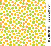 hand draw dots seamless pattern.... | Shutterstock .eps vector #1188839989