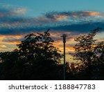 urban treeline  skyline  ... | Shutterstock . vector #1188847783